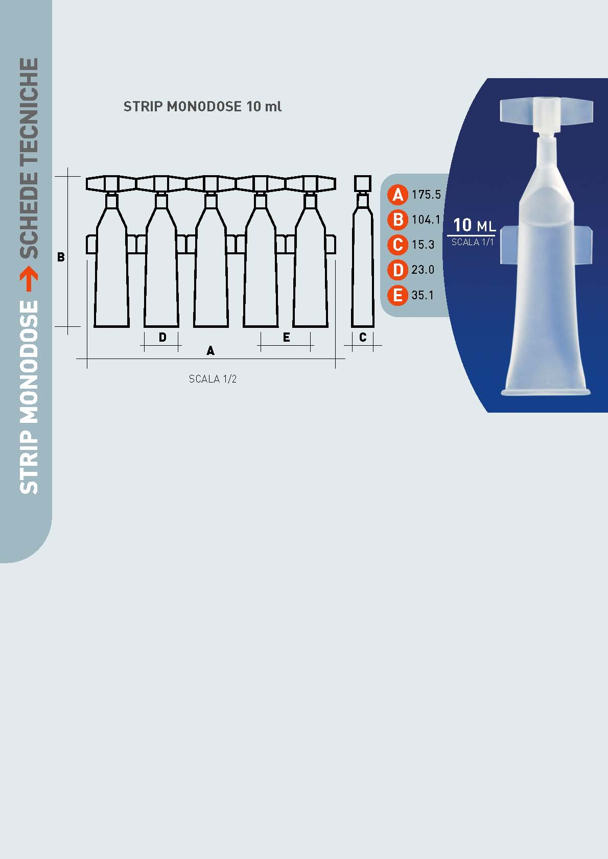 Monodose 10 ML